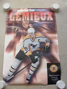 "FS: 1996 Mario Lemieux (Canadian Food Issue) ""Promo"" SHEET"