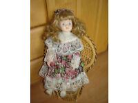 Porzellan Puppe für Liebhaber,Sammler, Nordrhein-Westfalen - Monheim am Rhein Vorschau