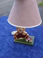 lampe a motif d'oursons