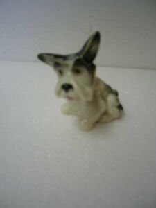ANTIQUE GOEBEL SCHNAUZER FIGURINE