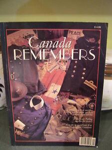Book -  Canada Remembers
