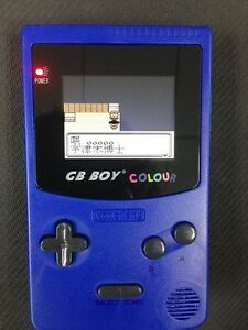 Brand New Chinese Version Backlit Game Boy Color Handheld System-4 Color