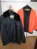 Fireman's WINTER Coat (with removable Neon Liner)