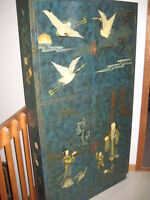 ARMOIRE STYLE CHINOISE DE COIN