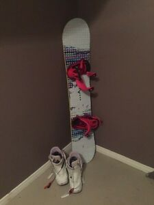 Burton Snowboard and Boots $250 London Ontario image 1