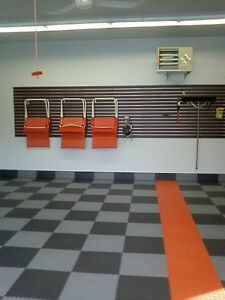 Quality Rubber flooring for Garage or Work-out Room! U.S. MADE!