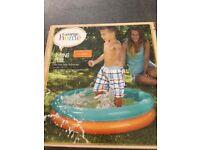 Paddling pool. Kids 1-3 (small). New