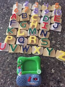 Leap frog fridge phonics magnetic letters with numbers  Peterborough Peterborough Area image 2