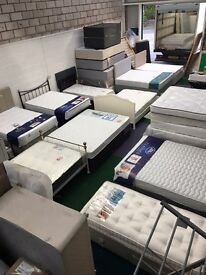 bed and mattress ex-display sale
