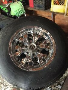 *PRICE REDUCED* 10 ply winter tires on 6 bolt rims