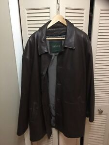 Danier leather coat jacket