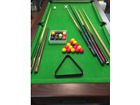 Pool table 4x7