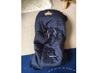 Elastic cover for car seat