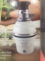 Brand New Kindred Waste Disposer