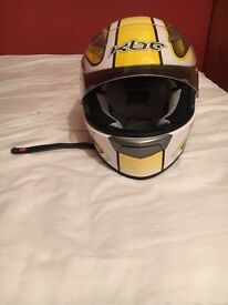 Helmet and race suit with accessories