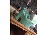 Size 8 platform heels