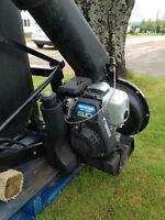 leaf catcher and vacuum REDUCED