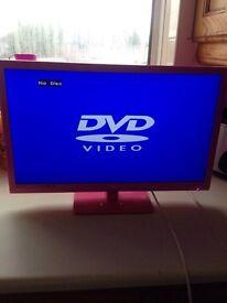 24inch Alba TV/DVD player HD
