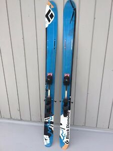 Black Diamond Megawatt Skis Fritschi Bindings 188