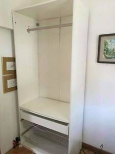 ikea white tall wardrobe for sale free delivery Narwee Canterbury Area Preview