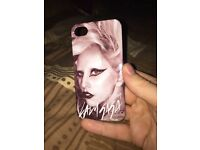 "Lady gaga ""born this way"" iPhone 4/4s case"