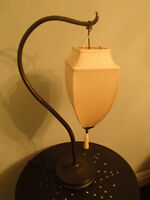 PRETTY AND UNIQUE TABLE LAMP from POTTERY BARN