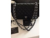 Classic Chanel Black Bag