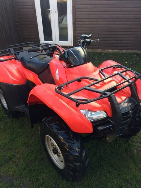 2012 Honda Fourtrack es 420 Electric shift Farm Quad with low hours £2800.00 no offers bargin