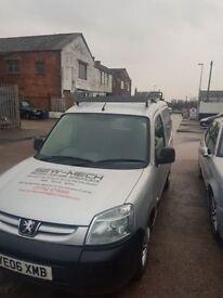 06 reg Peugeot partner