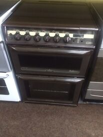 Brown Parkinson Cowan 60cm gas cooker grill & double oven good condition with guarantee bargain