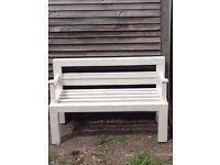Shabby Garden Bench