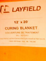 Layfield Insulated Curing Blankets  30  - 12'x20'