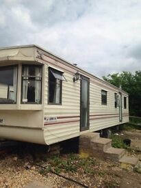 Bedroom static caravan for rent