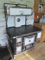 Antique McClary Wood Burning Cook Stove