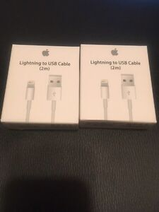 APPLE IPHONE 2m LIGHTNING CABLE IPHONE 5 ,6,7