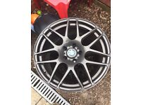 "Bmw 19""alloy wheels spares or repairs"