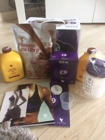 New & Sealed RRP £108.95 ❤ FOREVER LIVING ❤ CLEAN 9 PACK ❤ C9 ❤ Vanilla/Chocolate & FREE Shaker !!