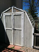 8'x8' shed