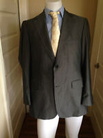 BURBERRY LONDON Super 130s Dual Vent Wool Blazer