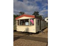 Static caravan for sale at Wemyss Bay holiday park near Largs Saltcoats Stevenson Ayr