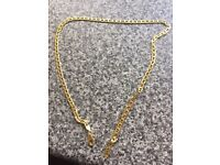 9CT Gold Anchor Chain