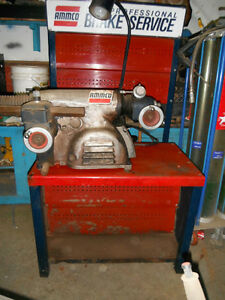 Ammco disc rotor and brake drum lathes