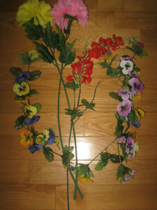 SPRING-LIKE ARTIFICIAL FLOWERS