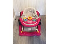 Baby walker girls car