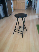 Black Bar Stools (4)