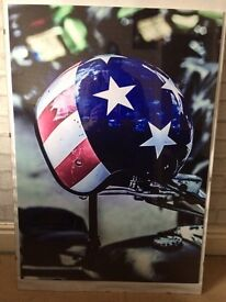 Helmet print A1 Board Ante Up Photography