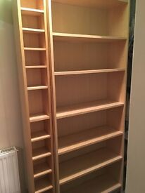 Billy book case in beech. Used but in good condition