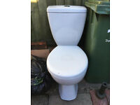 Toilet with water saving cistern