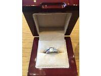 0.99 carat diamond wedding and engagement ring set