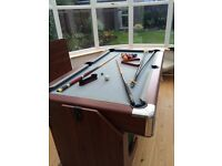 Pool & Games Table